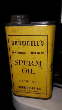 Sperm Oil